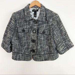 Lane Bryant Cropped Tweed Jacket Size 20